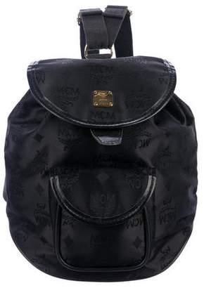 MCM Vintage Visetos Nylon Backpack