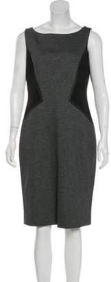 Lafayette 148 Sleeveless Knee-Length Dress 148 Sleeveless Knee-Length Dress