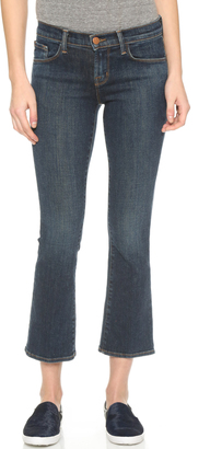 J Brand Selena Cropped Boot Cut Jeans $218 thestylecure.com