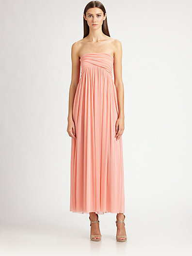 Jean Paul Gaultier Strapless Maxi Dress