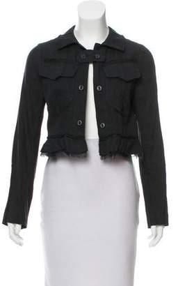 Hache Linen-Blend Jacket