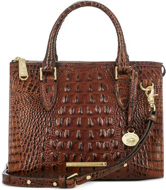 Brahmin Melbourne Anywhere Embossed Leather Satchel