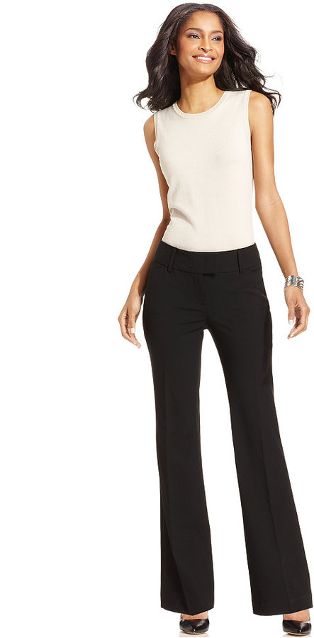 Charter Club Pants, Straight-Leg Curvy-Fit Trousers