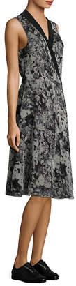 Lanvin Pansy Wrap Dress