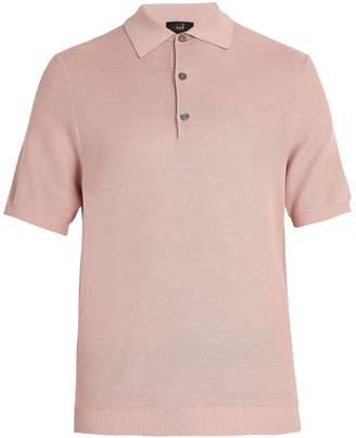 Dunhill Silk-piqué polo shirt