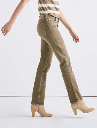 Lucky Brand Sweet Mid Rise Straight Jean