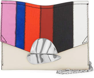 Proenza Schouler Curl Colorful Patchwork Clutch Bag