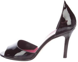 Kate SpadeKate Spade New York Patent Leather Peep-Toe Pumps