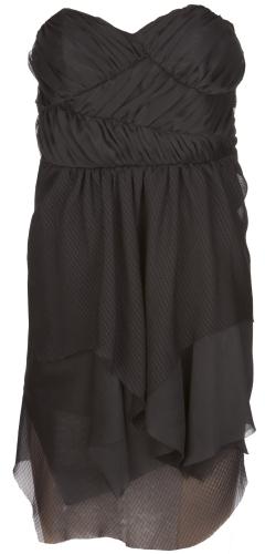 Charlotte Russe Ruched Chiffon Dress