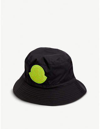 efd3c334774 Moncler GENIUS Logo-embroidered shell bucket hat