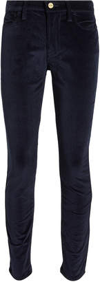 Frame High-Rise Corduroy Skinny Pants