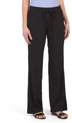 Drawstring Beach Cover-up Pants