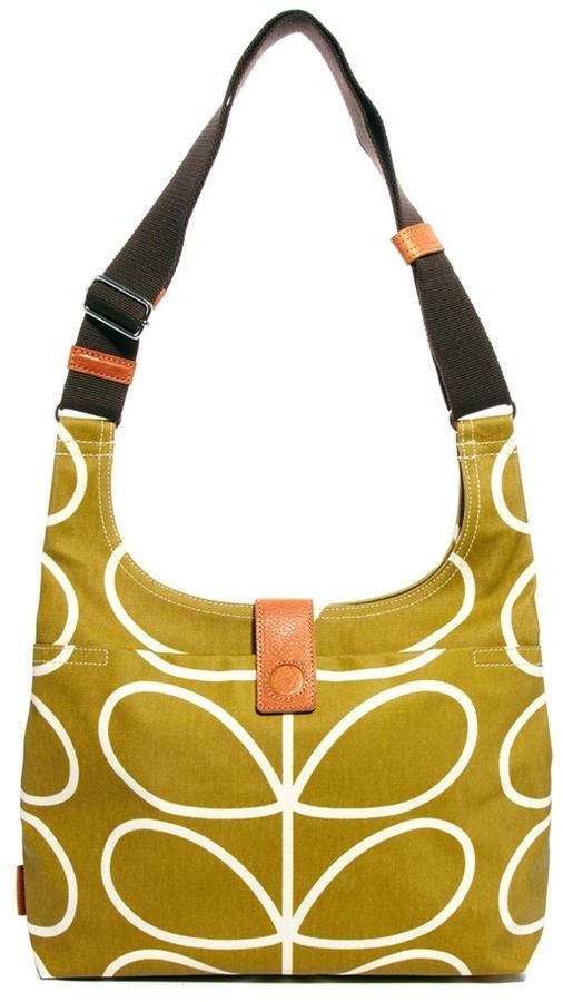 Orla Kiely Linear Stem Midi Sling Bag