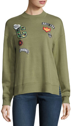 Hybrid Tees Long Sleeve Sweatshirt-Juniors $19.99 thestylecure.com