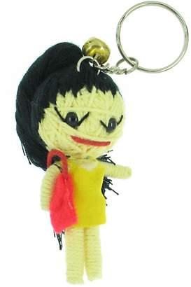 Amy Winehouse Voodoo String Doll Keyring Keychain