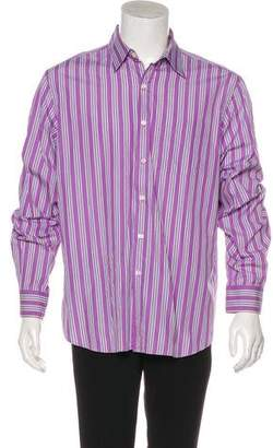Ralph Lauren Purple Label Striped Casual Shirt