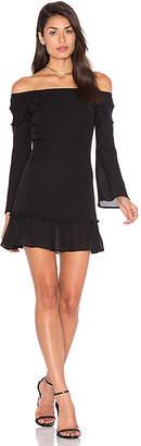 STONE COLD FOX Elsa Dress in Black $380 thestylecure.com