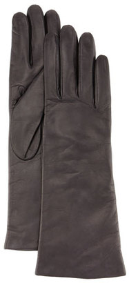 Portolano Napa Leather Gloves, Brown $105 thestylecure.com