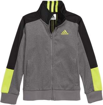 adidas Heathered Track Jacket