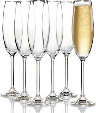 Lenox Tuscany Champagne Flutes 6 Piece Value Set