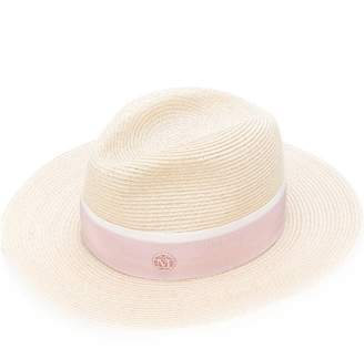 Maison Michel straw band hat