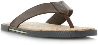 Dune Indie cork toe post sandal