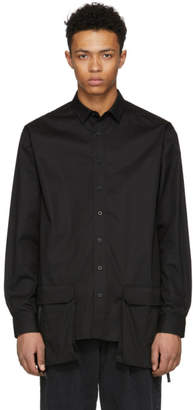 D by D Black Front Pocket Shirt