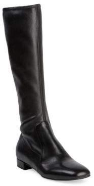 Prada Tall Stretch-Leather Boots