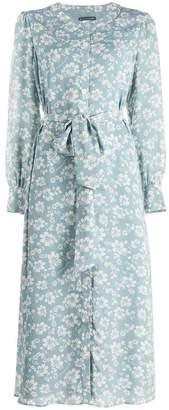 ALEXACHUNG Alexa Chung floral print shirt dress