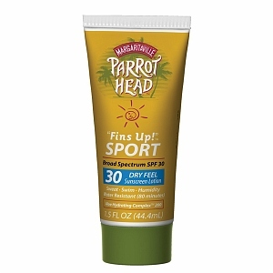 "Margaritaville Parrot Head ""Fins Up!"" Sport Lotion, Travel Size, SPF 30"