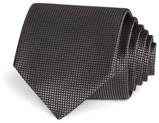 Bloomingdale's The Men's Store at Basic Textured Solid Classic Tie - 100% Exclusive