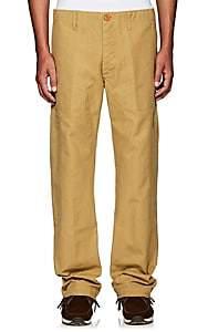 Visvim Men's Cotton Canvas Trousers - Camel