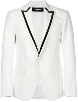 DSQUARED2 contrast lapel blazer