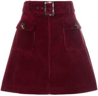 ALEXACHUNG Alexa Chung corduroy mini skirt