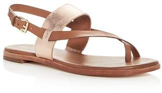 Cole Haan Women's Anica Leather Thong Sandals