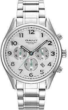 Gant ブルーHill gt009002メンズクオーツ腕時計
