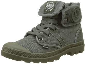 Palladium Womens Pallabrouse Baggy Canvas Boots 6 US