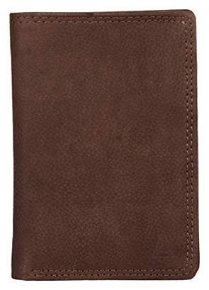 Leather Architect Men's 100% Leather RFID Blocking Classic Bifold Wallet ()