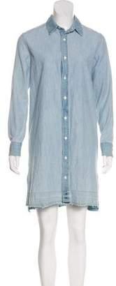 Rag & Bone Denim Button-Up Dress