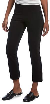 Hue Lace Tuxedo Cropped Leggings