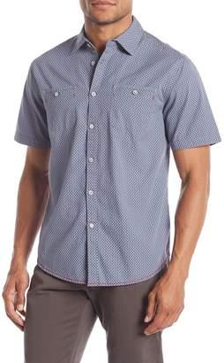 Burnside Patterned Short Sleeve Regular Fit Shirt