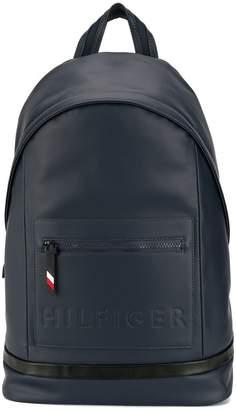 Tommy Hilfiger logo embossed backpack