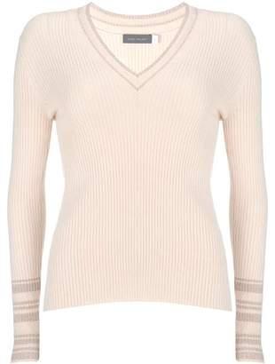 Mint Velvet Pale Pink V-Neck Knit Jumper