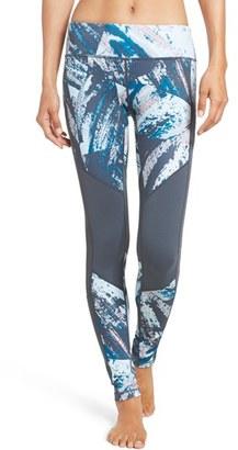 Women's Zella 'Mudra' Mesh Inset Leggings $69 thestylecure.com