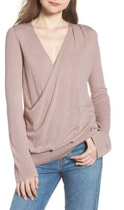 Hinge Surplice Sweater