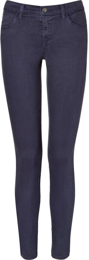 J Brand Jeans Marine Mid-Rise Super Skinny Jeans