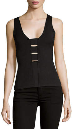 Narciso Rodriguez Strappy Knit Tank Top
