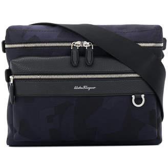 Salvatore Ferragamo zipped shoulder bag