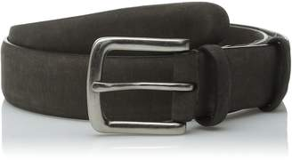 John Varvatos Men's 32mm Double Keeper Belt