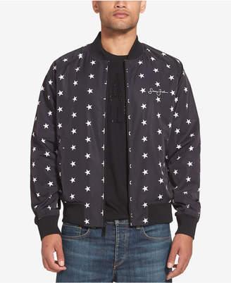 Sean John Men's Star-Print Legacy Bomber Jacket